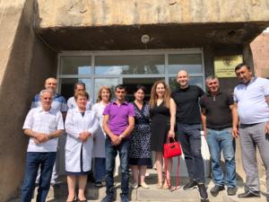 Group Photo Vardenis Hospital
