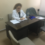 Dr. Azizian's first medical mission at V. Avagyan Medical Center in Yerevan in May, 2018